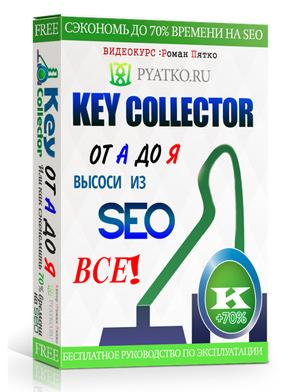 бесплатное руководство по работе с  Key Collector