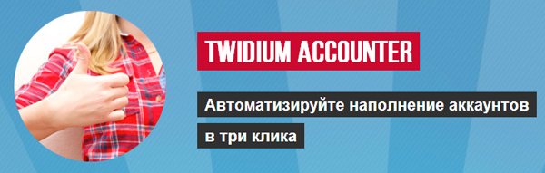 Программа Twidium Accounter