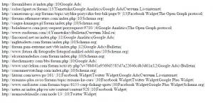 Альтернативный алгоритм поиска трастовых форумов