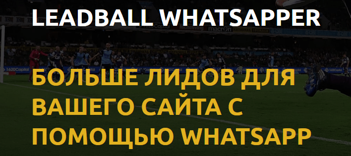 Сервис Лидбол Вацапер (Leadball Whatsapper)